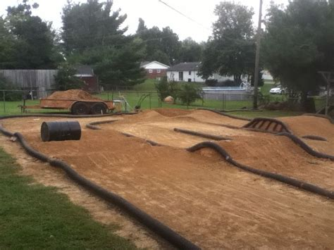backyard rc track my backyard traxxas rc track rc stuff pinterest