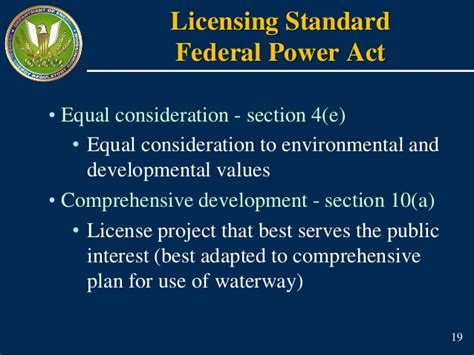 section 18 equality act hydro 101 a primer on the hydropower relicensing process