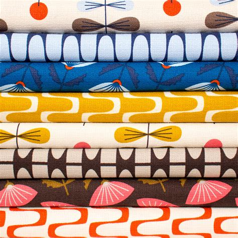 Upholstery Australia by 4 New Retro Barkcloth Designs From Jones And Cloud