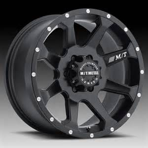 Truck Wheels Mickey Thompson Mickey Thompson Metal Series Mm366 Matte Black Custom