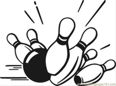 coloring pages bowling balls pins bowling pins coloring page free bowling coloring pages