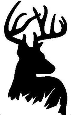 this is awesome like the inversion of everything else i silhouette of a deer which would look awesome as an
