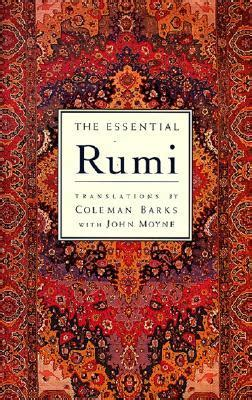 Trashionista Recommends Expanded Books by The Essential Rumi Reissue New Expanded Edition By Rumi