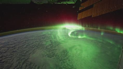 northern lights from space northern lights from international space station wallpaper