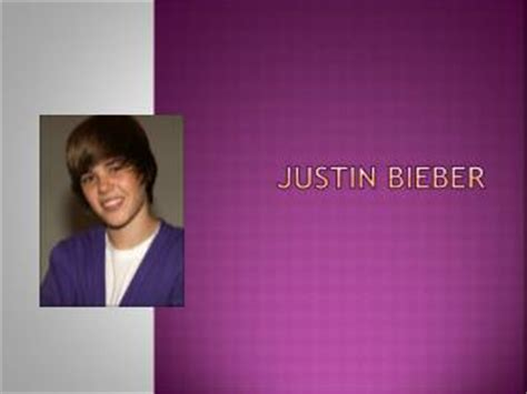 biography justin bieber english ppt biography of justin bieber powerpoint presentation