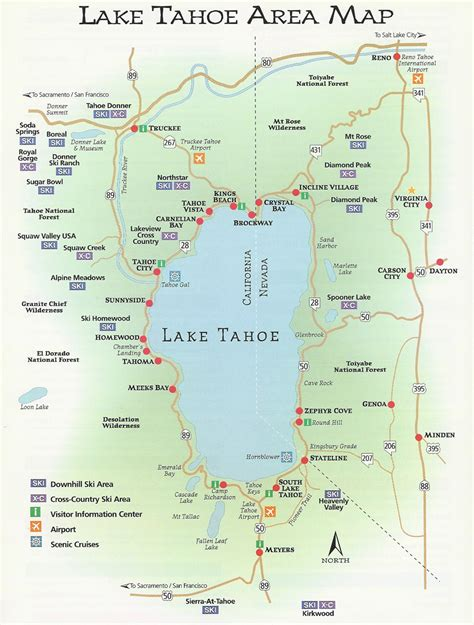 california map lake tahoe lake tahoe tales trivia keeping lake tahoe the