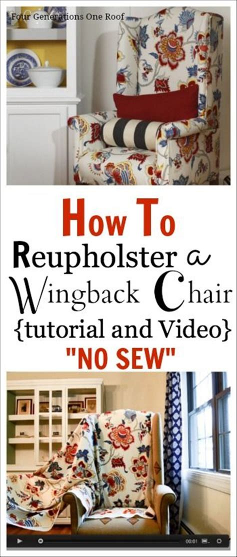 how to reupholster a couch without sewing 25 best ideas about wingback chairs on pinterest