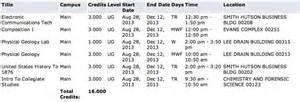 Ut Schedule Of Classes Of At San Antonio Random Snippets