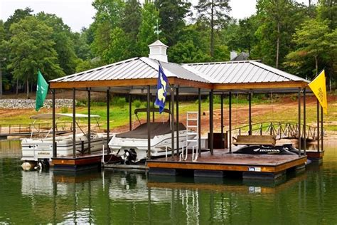 boat house accessories custom dock systems builds quality boat docks boat lifts