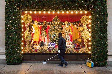 selfridges is the first store to launch christmas windows