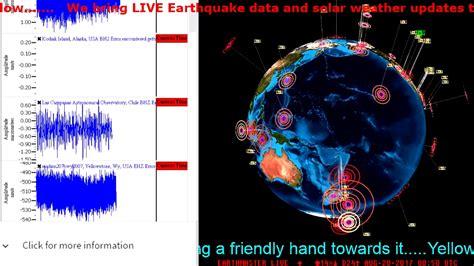 earthquake watch live yellowstone earthquake watch live earthquake data