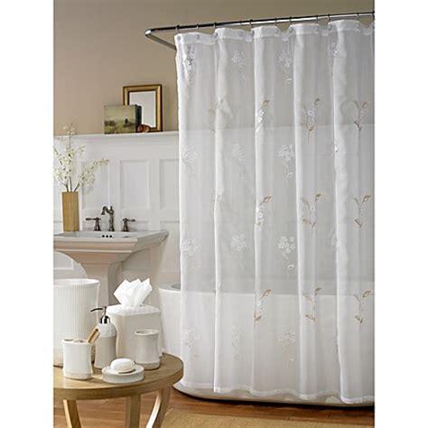 hydrangea shower curtain bed bath beyond