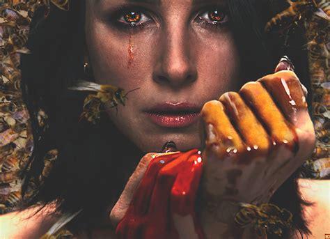 honey blood blood honey poster oozes the sweet stuff trailer debut