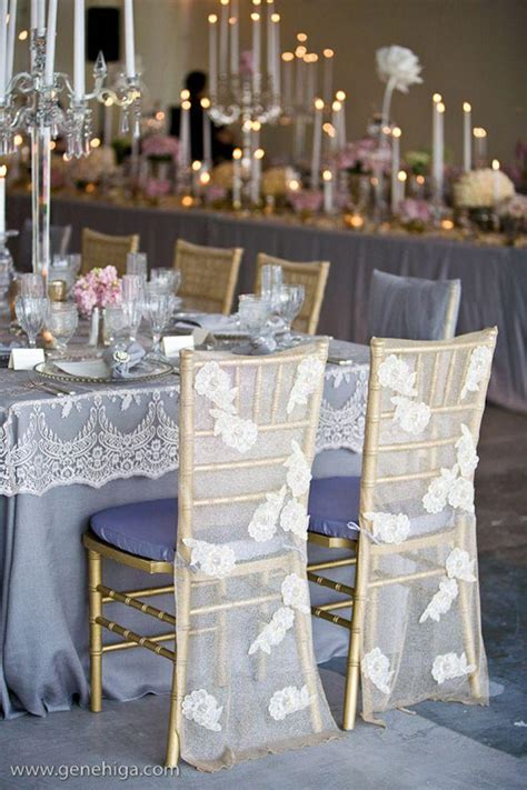 tablescapes lace wedding chair decoration 2030184 weddbook
