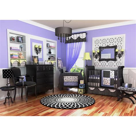 purple room decor nursery decorating ideas 5 unique looks for the new baby