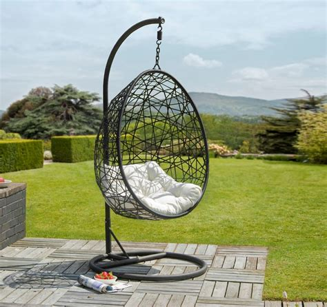 retreat rattan egg chair garden furniture greenacres