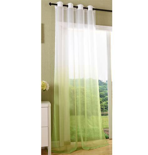 gardinen mit schals vorhang transparent schal 214 sen gardine voile farbverlauf