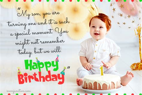 wonderful st birthday wishes  messages  babies