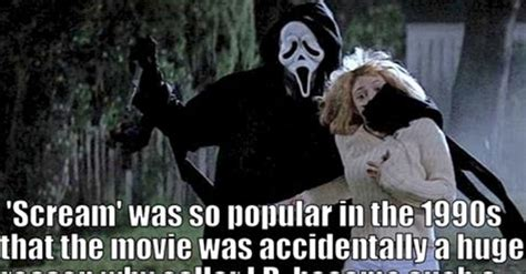 Scream Movie Meme - 11 messed up true facts about the scream movies rated