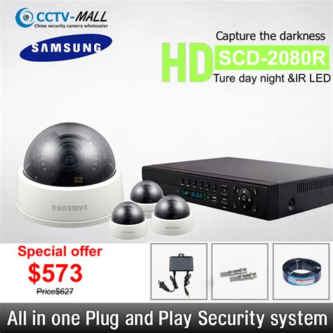 Cctv Samsung Scd 2080r wholesale samsung security systems 4 channel hd 4