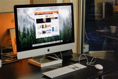 ordinateur apple bureau test des imac 27 pouces retina 5k fin 2014 macgeneration