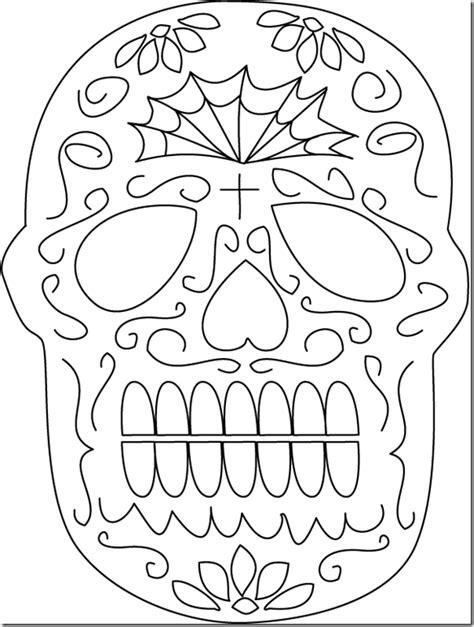 imagenes de calaveras mexicanas para colorear dibujos de calaveras mexicanas del d 237 a de los muertos para