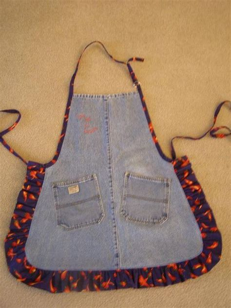 pattern for jeans apron jean apron aprons and jeans on pinterest