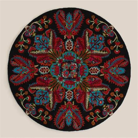 world market rug sale 5 medallion tufted rug world market