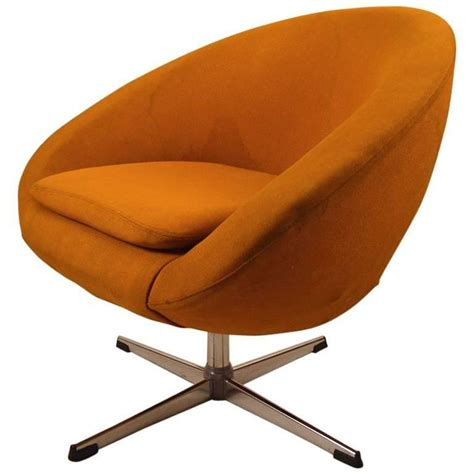 Pod Chair by Single Overman Swivel Pod Chair For Sale At 1stdibs