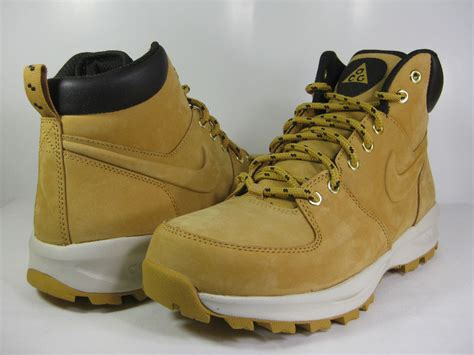 nike sneaker boots mens nike manoa leather haystack brown 454350 700 mens
