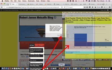 wordpress tutorial james stafford wordpress content most popular words histogram tutorial