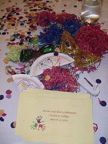 holi decoration ideas for office table decorations at the purim and holi celebration on