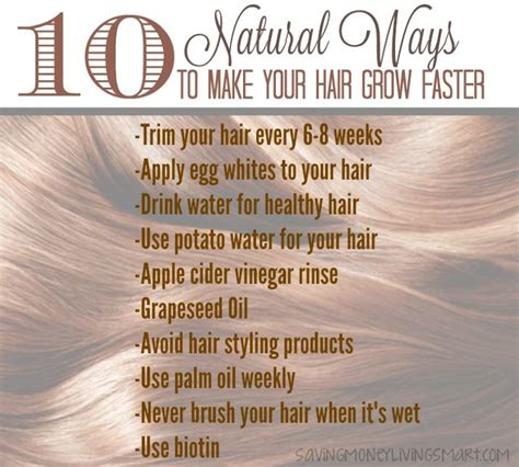 10 Tips On How To Grow Hair by 10 Ways To Make Your Hair Grow Faster Health