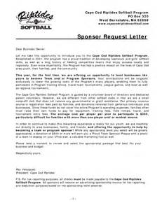 Request For Charity Sponsorship Sample Letter Basketball Sponsorship Letters Sample Chainimage