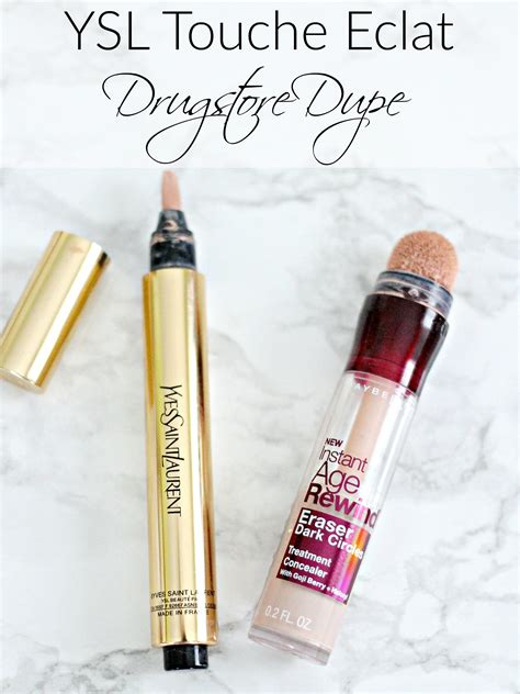 ysl touche eclat dupe everyday starlet