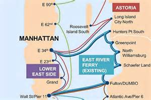 New York Ferry Map by Map Revealed For De Blasio S City Wide Ferry System 6sqft