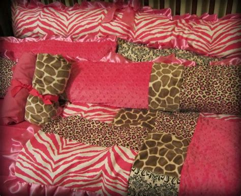 Pink Leopard Print Crib Bedding 29 Best Images About Pink And Brown Baby Bedding On Pink Brown Baby Crib