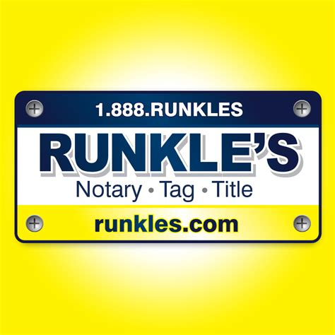 Vehicle Registration Office Near Me by Runkle S Notary Tag Title Coupons Near Me In
