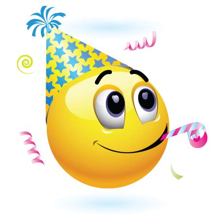 celebration emoji birthday celebration emoticon birthdays and smileys