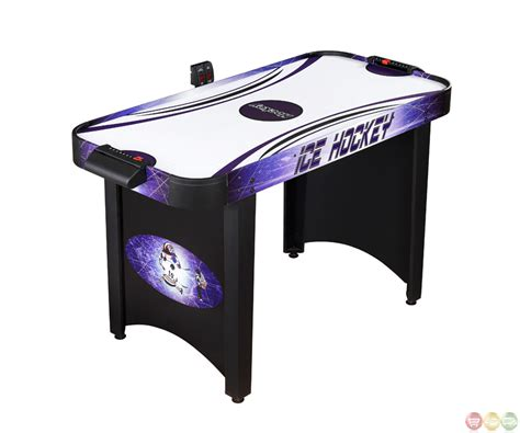 air hockey table accessories carmelli ng1015h hat trick 48 quot air hockey table