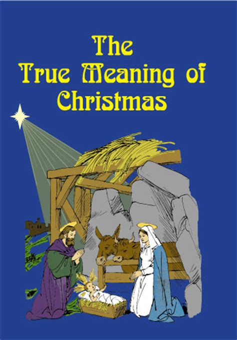 the true meaning of christmas gt books