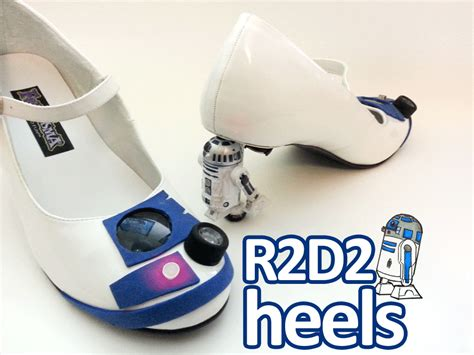 create your own high heels for the how to make your own r2 d2 high heels