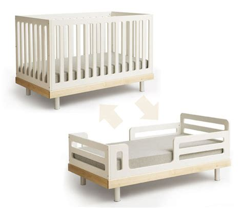 convertible crib to bed oeuf eco friendly convertible crib inhabitat green