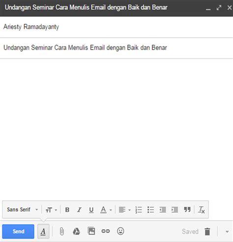 Cara Menulis Alamat Perusahaan Di Lop by Cara Menulis Dan Mengirim Email Formal Dengan Baik Dan