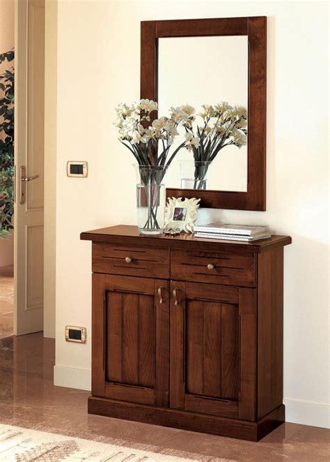 mobili da ingresso classici ingresso classico noce 90 cm pr varenne 311 mobile e