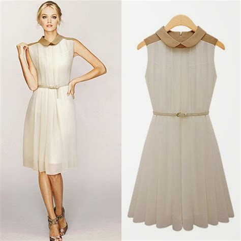 Dress Cantik 02 dress wanita elegan koleksi baju wanita