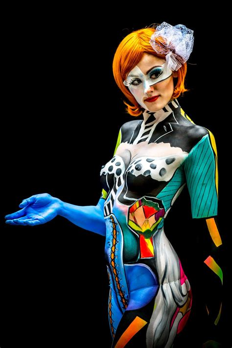 world bodypainting festival 2014 in colours photos from the world bodypainting