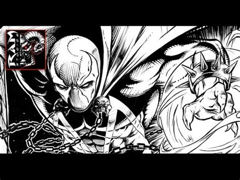 sketchbook pro speed drawing inking spawn in sketchbook pro speed by