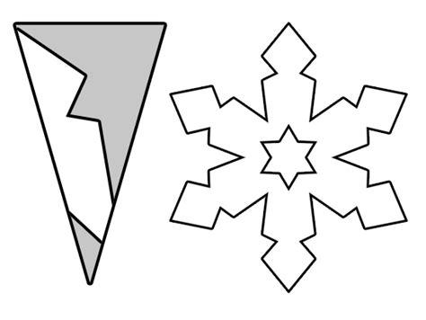 plantilla copos navidad como hace copos de nieve de papel manualidades para ni 241 os