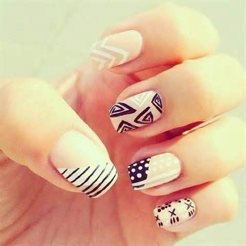 easy nail art pictorial simple nail art picture